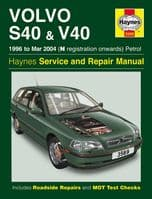 Haynes Workshop Repair Manual Volvo S40 & V40 96 - 04
